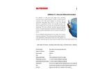 McPherson - Model 234/302 - Compact and Versatile Vacuum Ultraviolet Monochromator - Data Sheet