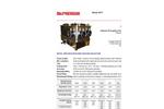 McPherson - Model 207V - Vacuum Compatible Czerny-Turner Monochromator - Data Sheet