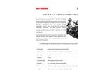 McPherson - Model 248/310 - SXR and EUV Rowland Circle Monochromator - Datasheet
