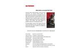 McPherson - Model 251MX - Aberration Corrected Flat Field Spectrometer - Data Sheet