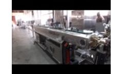 New! 2017 DFX 1000F Premium Plus Flat Drip Irrigation Pipe Production Line Video