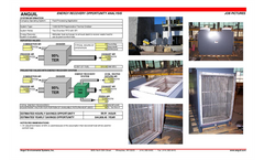 Air-to-Air Heat Exchanger Provides Plant Heat and Big Savings - Brochure