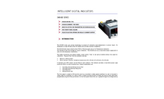 DM3410 - RTD / Thermocouple Input Panel Meter Data Sheet