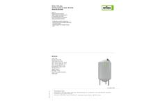 Reflex - Model G 400, Grey - Standing Expansion Vessel - Datasheet