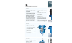 3P Attenuation and Infiltration Filter with Telescopic Extension Datasheet