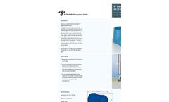 DN250-10 3P Calmed Inlet Datasheet