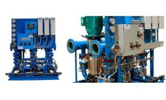 Harvested Water Pressure Booster System