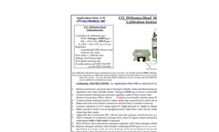 CO2 Diffusion Head Model 2156 Brochure