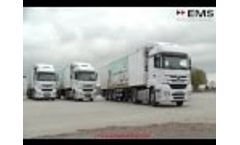 EMS Solid Waste Collection Vehicle and Transportation manufacturer in Turkey | Waste Management Video