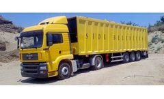 Erhan - Model 66 m3 - Waste Transfer Semitrailer