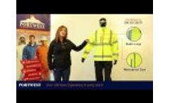 Portwest Hi Vis 2 in 1 Softshell Jacket, S428 Video