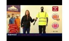 Portwest Hi Vis Short Sleeve Polo, S477 Video