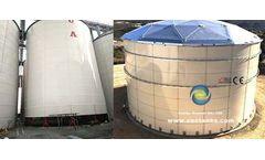CEC Tanks - Model EGSB - High Corrosion Resistance Expanded Granular Sludge Bed Tanks