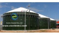 CEC Tanks - Model 100 000 Gallon - Anaerobic Digester Tank for Organic Waste Treatment
