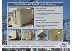 FIRE RETARDANT TRANSFORMER HOUSING