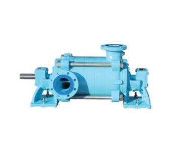 Centrifugal Multistage Pumps with Horizontal Axle-1