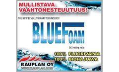 Orchidex BlueFoam - Model 172-100-025 - Fluorine Free Firefighting Foam