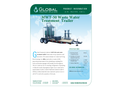 Model MWT-50 - Mobile Carbon Filtration Waste Water Treatment Trailer - Datasheet