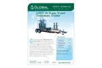 Model MWT-50 - Mobile Carbon Filtration Waste Water Treatment Trailer - Datasheet