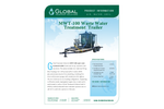 Model MWT-100 - Mobile Carbon Filtration Waste Water Treatment Trailer - Datasheet