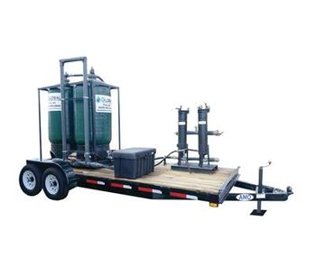 Model MWT-50 - Mobile Carbon Filtration Waste Water Treatment Trailer