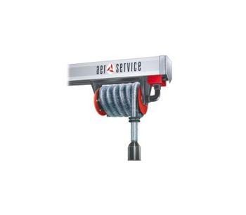 AER - Model ARHM - Hose Reels for Duct Rail
