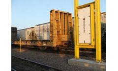 Rail Stationary Radiation Detection System