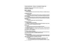 Draincore2 - Geocomposite Drainage Layer - Technical Specifications