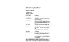 Beachrings2 - Accessible Mat Sytem - Material Safety Datasheet
