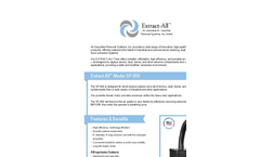Air Impurities - Model SP-800 - Portable Air Cleaner With 6″ Diameter Arm & 3-Stage Filter Pack Brochure