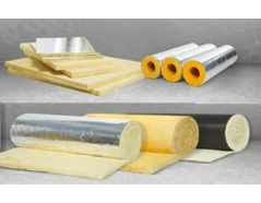 Recycling of glass wool and mineral wool with sliver foil