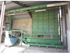 ACA crusher for crushing of wood, wood waste, pallets, etc.