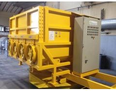 ACA crusher – mobile solution for crushing of electronic waste