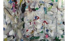 ACA - Bale Opener for Plastic Bottles Bales