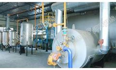 Model 8T - Semi Continuous Waste Tyre(plastic) Pyrolysis Plant