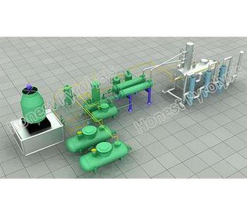 Model 10 T - Oil Distillation Plant