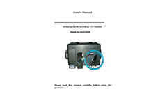 IPS - Model P30 - Drain Pipe Sewer Pipeline Video Inspection Camera Brochure