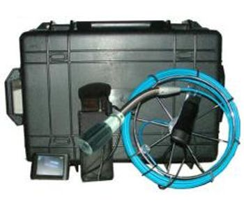 IPS - Model P30 - Drain Pipe Sewer Pipeline Video Inspection Camera