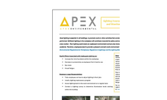 Lighting Assessments and Monitoring Services - Brochure