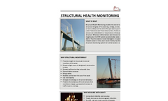 Structural Health Monitoring Sensors (SHM)- Brochure