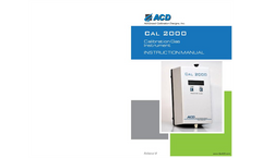 Model Cal 2000 - Calibration Gas Instrument- Brochure