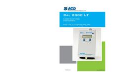Model CAL 2000LT - Calibration Gas Instrument- Brochure