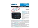 Model CAL 101 - Bump Station Calibration Gas Instrument- Brochure