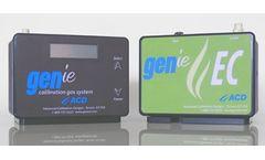 GENie - Model EC - Calibration Gas Instrument