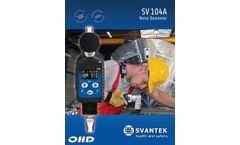 SV104A Noise Dosimeter - Datasheet
