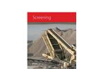 High Frequency Screens- Brochure