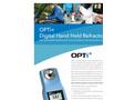 OPTi - Digital Hand Held Refractometers - Brochure