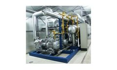 Model (LT) NH3/CO2 - Low Temperature Cascade Skid System