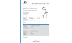 AIRSENSE - Model AVT-8 - Air Velocity Transmitter - Datasheet
