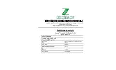 Humizone - Model FA-95/90/80/70-P - Fulvic Acid (FA) Brochure